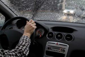 Conduire par mauvais temps : pluie