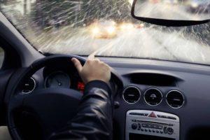 Conduire par mauvais temps