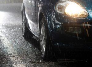 La détérioration d'une voiture par l'eau