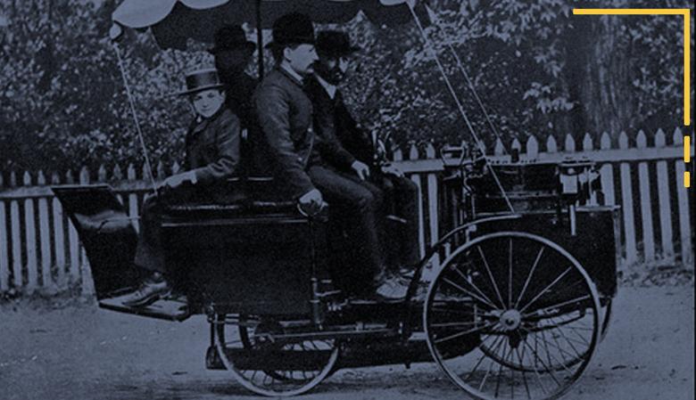 première voiture du monde